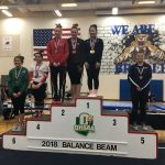 Hoover's Maddie Berrey Wins Balance Beam and Vault