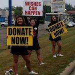 Hoover Cheerleader's Volunteer For Wishes Can Happen