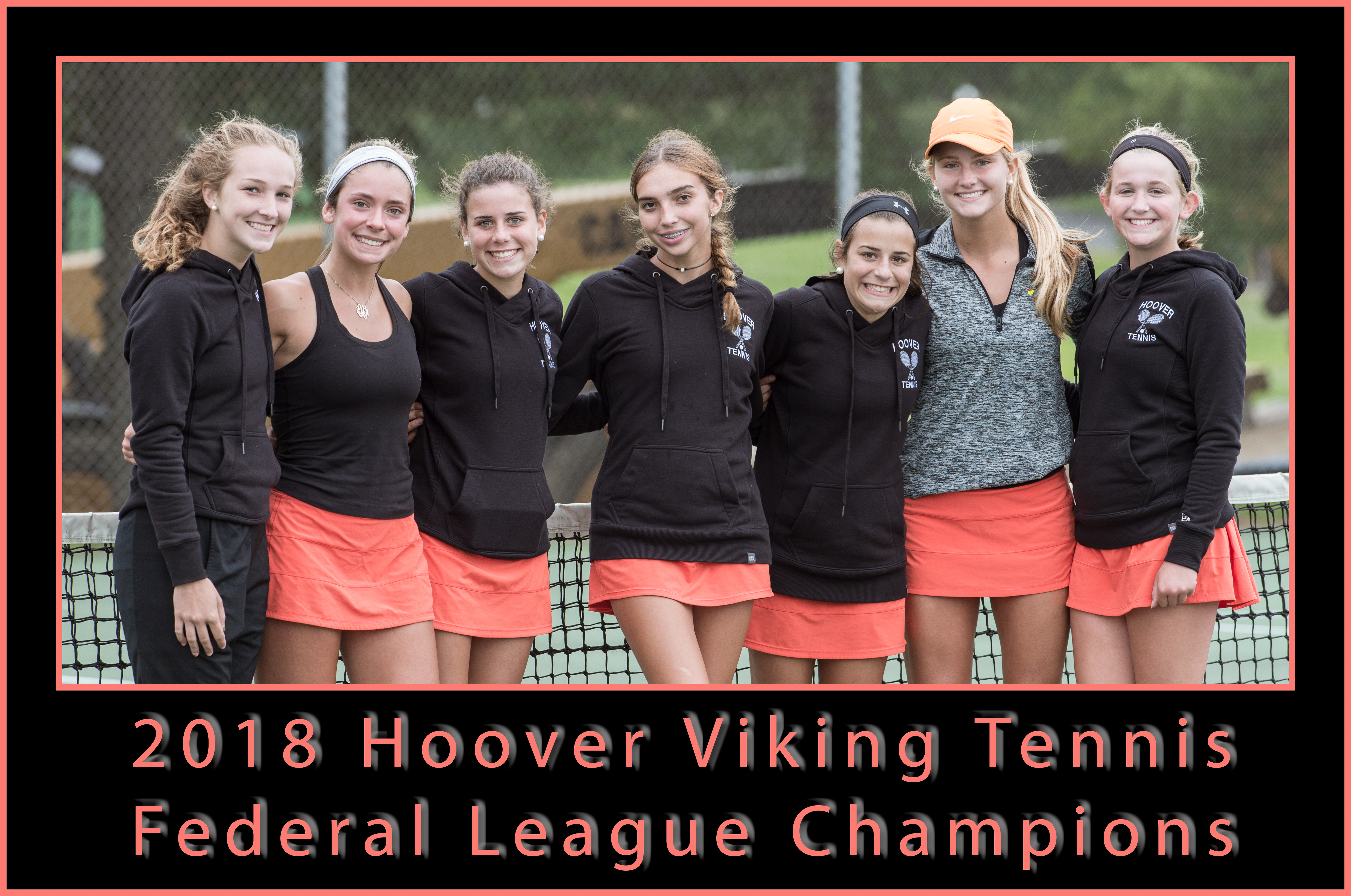 Hoover Girls Tennis Federal League Champs!