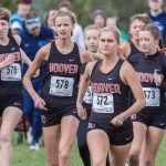 Hoover Girls Cross Country team ran one of their best races of the year