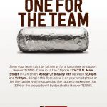 Hoover Tennis Chipotle Fundraiser Night Feb. 11 5-9pm