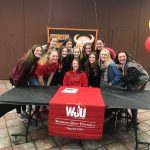 Jillian Hawks signs to Wheeling Jesuit University