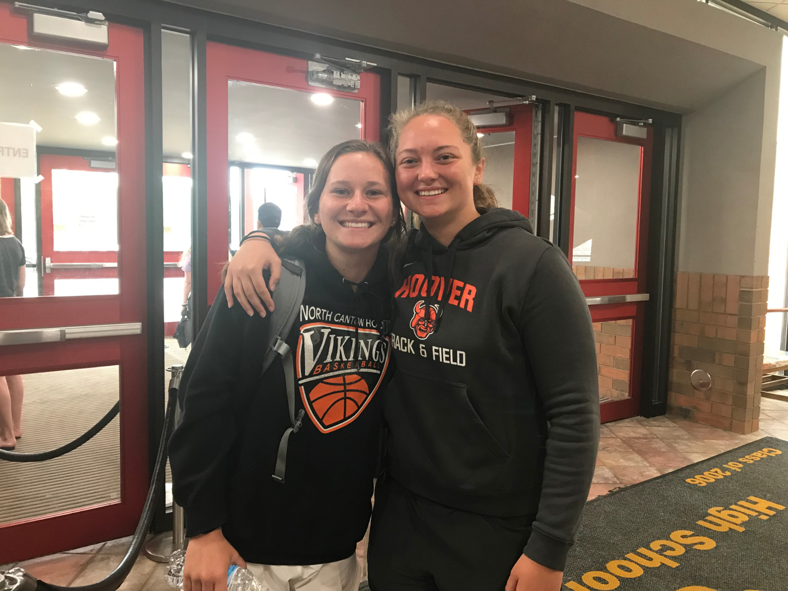 Hoover's Peyton Davis and Kelsey Kinsley Headed to State for Track & Field