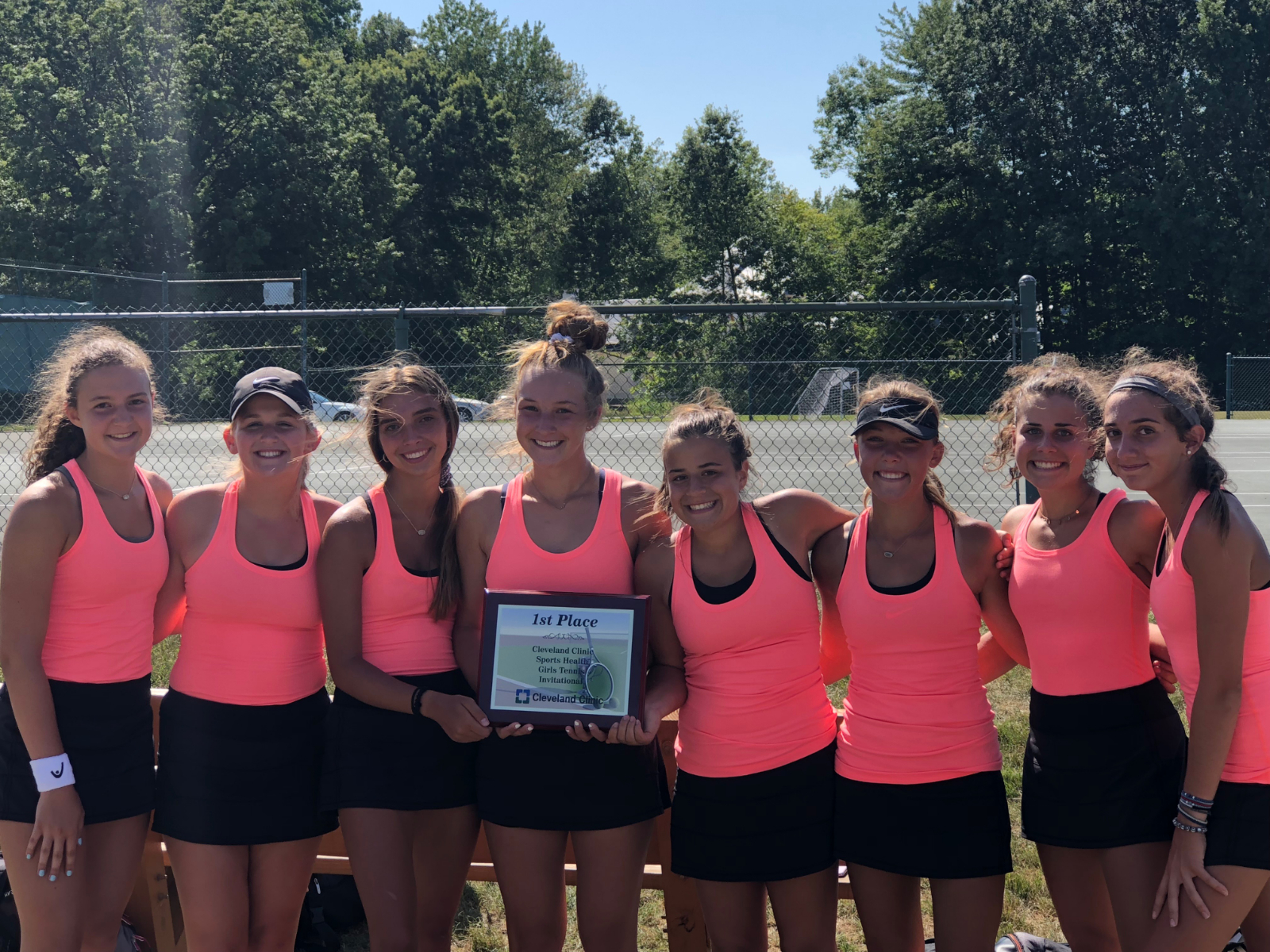 Hoover Girl's Tennis Starts Season by Winning Rocky River Invitational