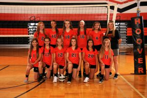 7th Grade Volleyball Orange