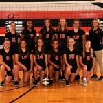 7th Grade Volleyball Black