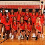 8th Grade Volleyball Orange