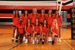 8th Grade Volleyball Orange