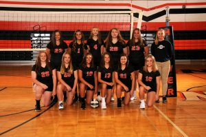 8th Grade Volleyball Black