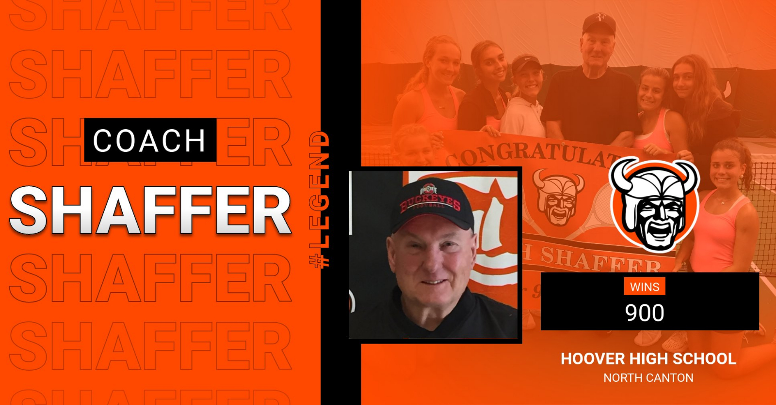 Hoover Tennis Coach Ryan Shaffer Celebrated 900 Career Wins