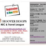 Registration Open for Hoover Hoops Recreational and Travel League
