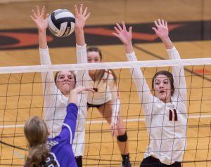 Hoover Vs. Jackson Varsity Volleyball