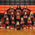Winter Middle School Cheerleaders 2019-20