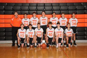 Boys 8th Grade Orange Players 2019-20