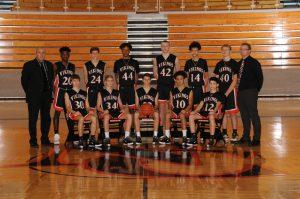 2019-20 Boys JV Basketball Players