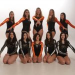 The Vikings Gymnastic Team defeated Louisville, Perry, and Green in their first competition of the season.