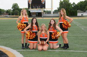 Fall JV Cheerleading 2020