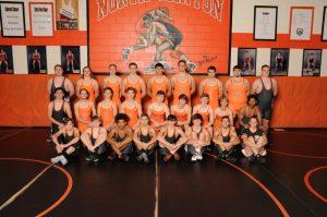 High School Wrestling Team 2020-21