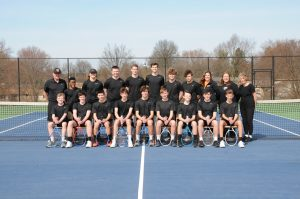 2021 Boy's Tennis Team Photo