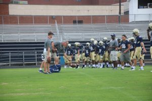 Football – Brookwood Scrimmage 8/10/2017