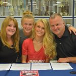 Congratulations Skylar English on signing with UGA to run Track & Cross Country!