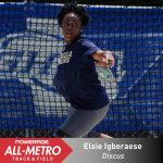 Vote for Elsie Igberaese for Atlanta Track Club All Metro Track & Field Team
