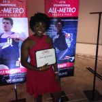Congratulations Elsie! All Metro Best Discus Thrower in the State!