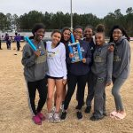 DHS Lady Falcons place 2nd at the Johnny's Pizza Apalachee Invitational Track Meet