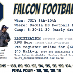 Dacula HS Youth Football Camp!