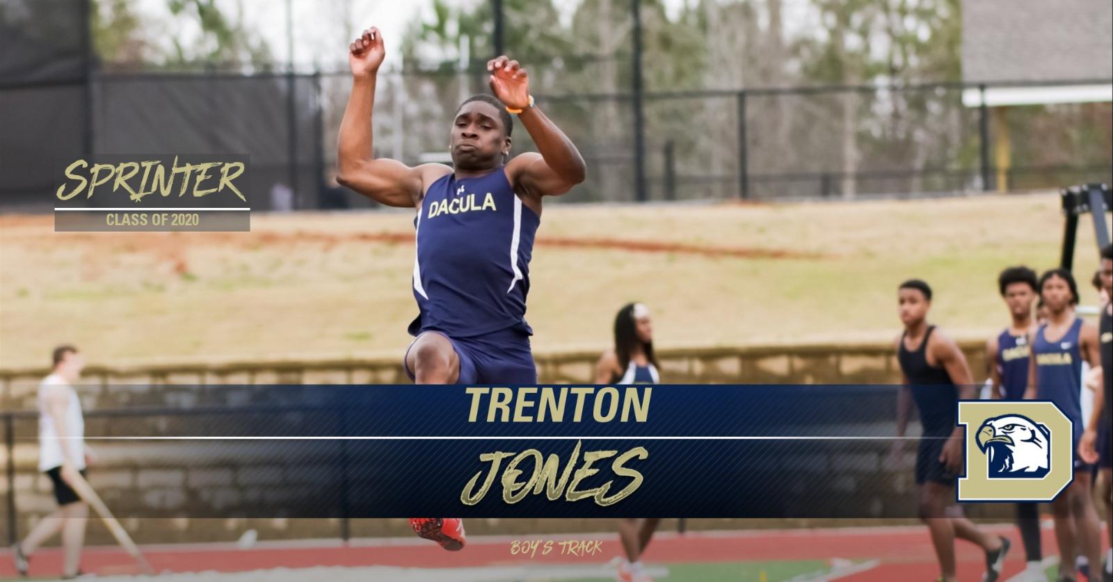 Trenton Jones- Track and Field