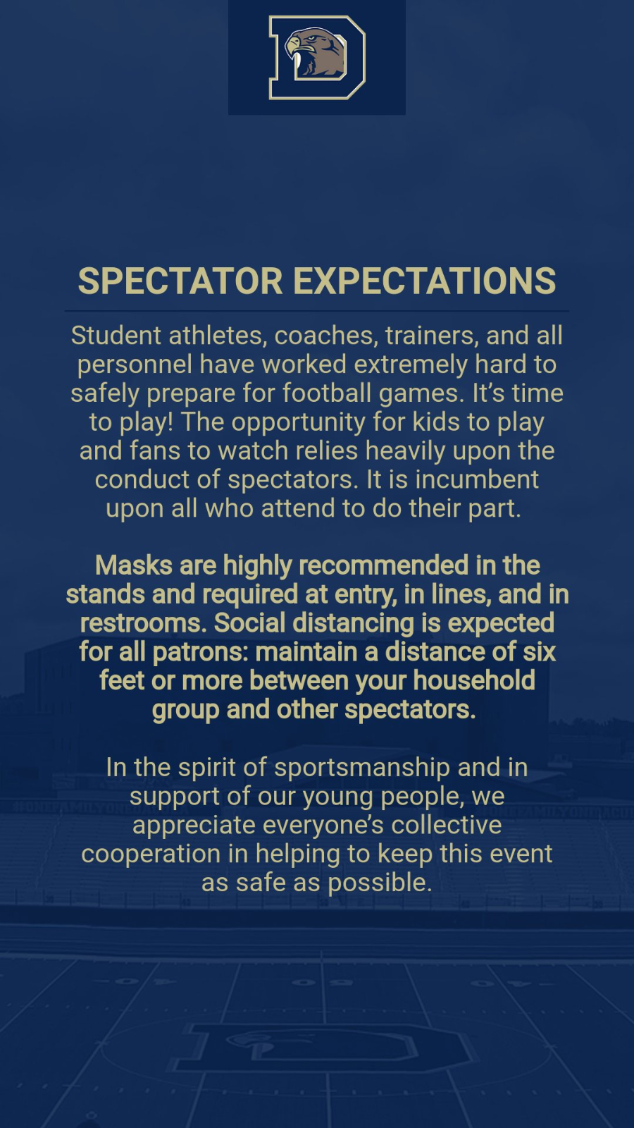 Spectator Expectations
