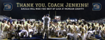Thank You, Coach Jenkins