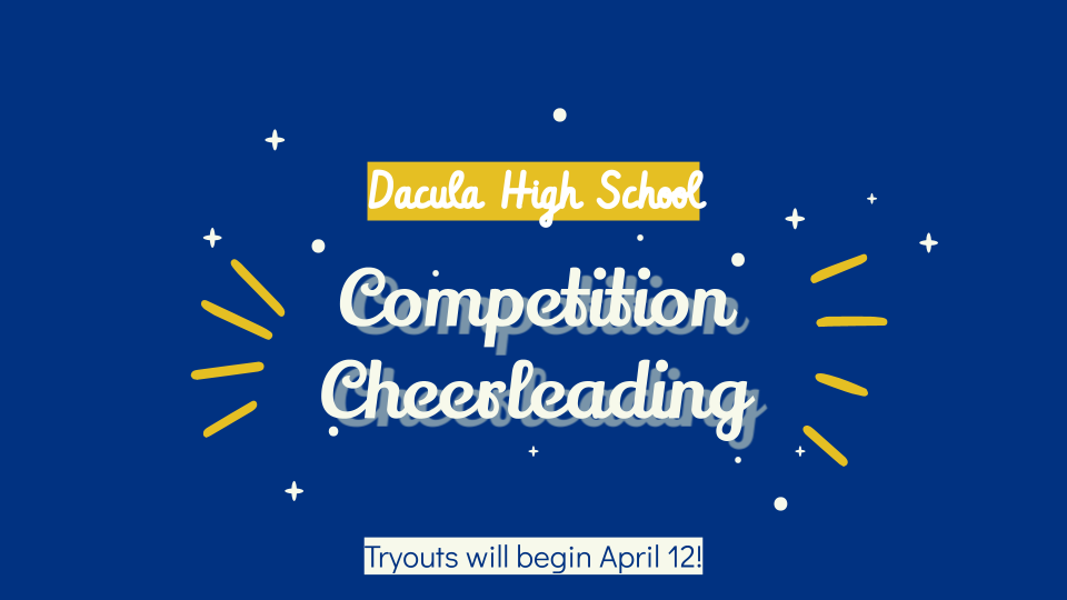 Competition Cheerleading Tryout Information