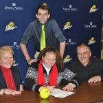 Morgan Ledford signs with Spring Arbor