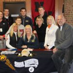 Ashley Carney signs with Siena Heights