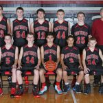 JV Boys Basketball team loses to Eaton Rapids