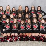 Competitive Cheer Places 3rd at CAAC Final Meet