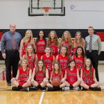 7th Grade Girls Head Into Tournament Play 11-0