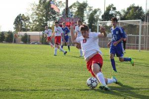 Varsity Boys Soccer vs Harper Creek