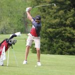 Boys' Golf Places 9th in the Onsted Invite