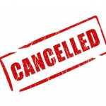 CANCELLATIONS for Today & Re-Scheduling Information