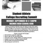 Student-Athlete College Recruiting Summit