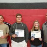 August/September Athletes of the Month