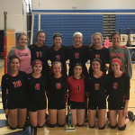 Freshman Volleyball Advances to Finals of Springport JV Tournament