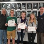 October Scholar Athletes of the Month Sponsored by Christner Insurance
