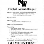 HS Football Awards Night