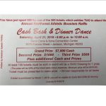 Cash Bash a Success- Please Read!!!