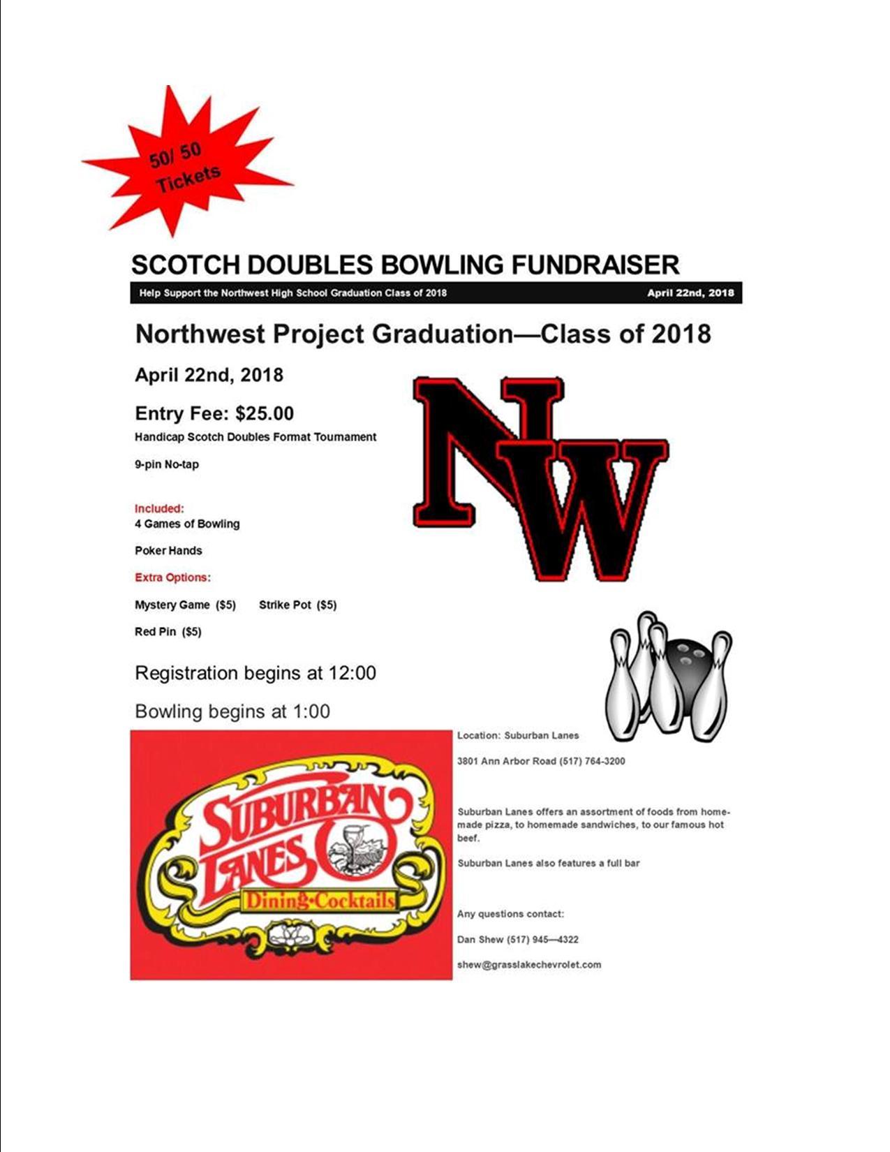 Project Graduation – Scotch Doubles Fundraiser