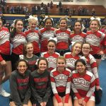 Girls Varsity Competitive Cheer finishes 11th place at Competitive Cheer Districts