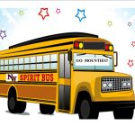 Spirit Bus for Volleyball Regional Match